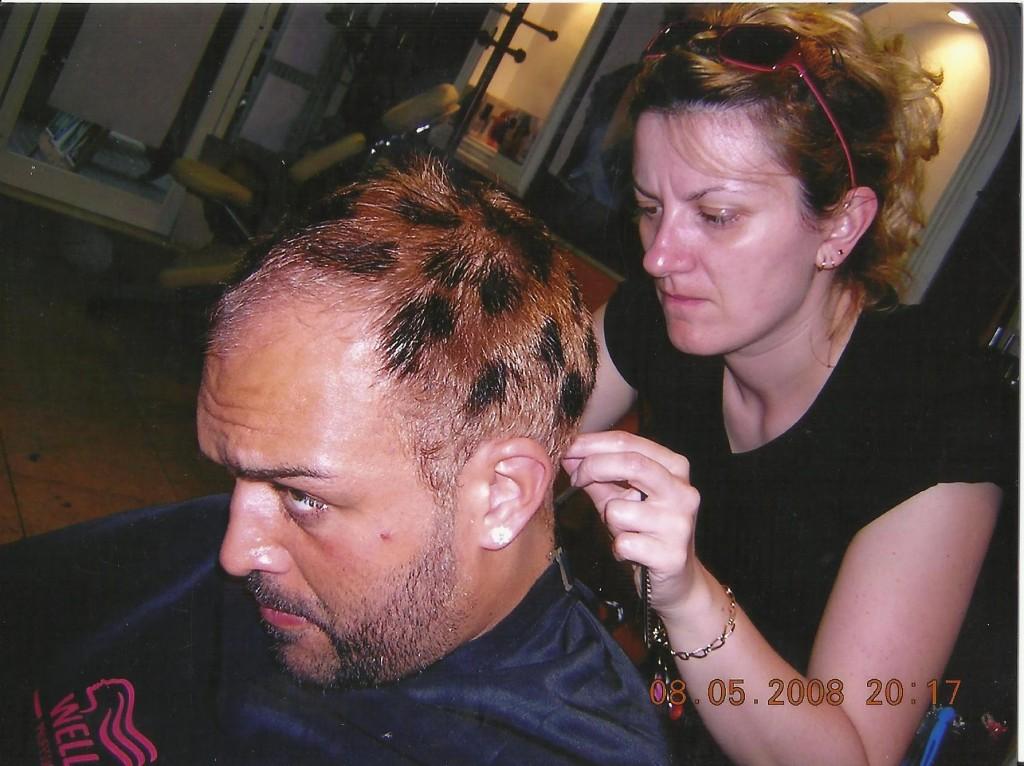 Hair stylist Zamfira