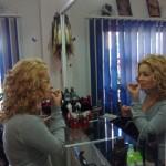 Coafura, coc cu burete, salon infrumusetare Timisoara, Simion Barnutiu, Beauty Salon Badea Cartan