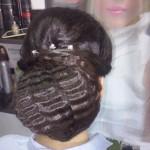 Catalog coafuri Salon Helen Timisoara Coc spaniol Hairstyle, Spanish bun
