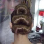 Catalog coafuri Salon Helen Timisoara Coc spaniol Hairstyle, Bun
